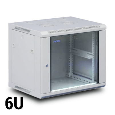 Toten 6u Wall Mount Rack 600w X 600d