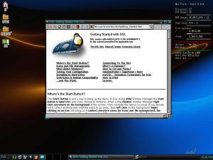 DSL - on first boot