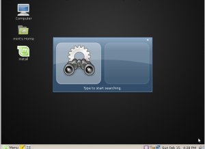 Linux Mint 6 - Gnome Do