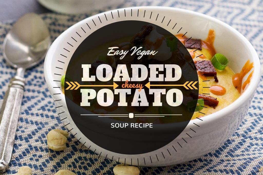 Easy Vegan Creamy Potato Soup Recipe