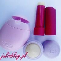 Recenzja dwóch balsamów do ust EOS: jajeczko i sztyft
