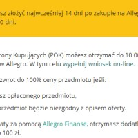 Program Ochrony Kupujących Allegro. Moje doświadczenia