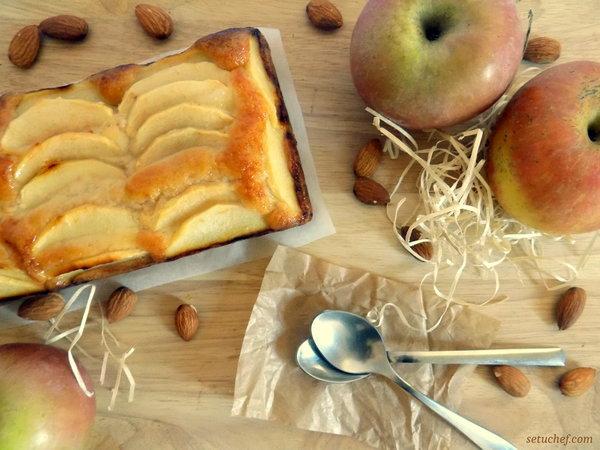 Pastel fácil de manzana