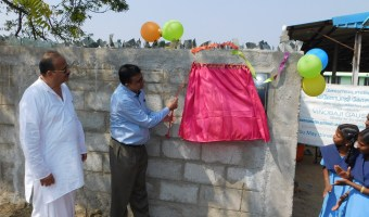 Reconstructed compund wall and solar power systems photes on 10-2-2017 (88)
