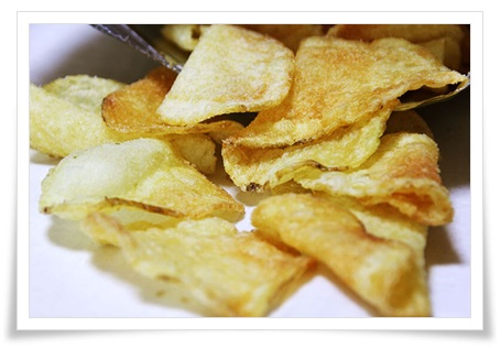 ポテトチップスをダイエット中や夜中に食べても太らない食べ方!