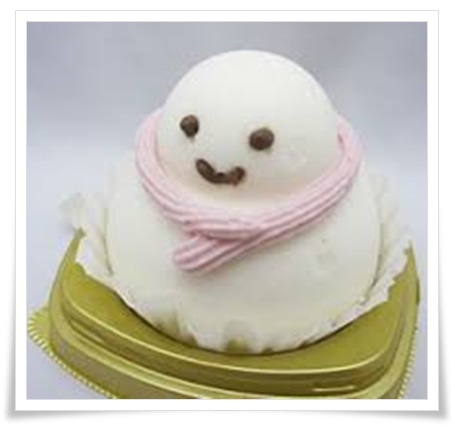 セブンイレブンスイーツのかわいいケーキ!「ことり」やアザラシetc雪の子ムースケーキ