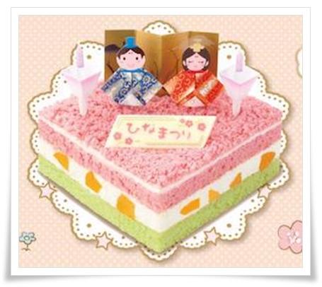 セブンイレブンのひな祭りケーキ対決2017!鎌倉とひよこの人気は?ひな祭りケーキ飾って楽しいひなまつりケーキ