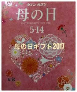 セブンイレブンの母の日ギフト2017!カタログからおすすめを紹介!