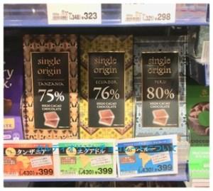 カルディのシングルオリジンチョコレート3種の味の違い!カロリーも