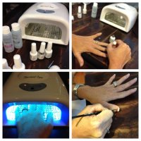 How to Apply Gelish Polish {french manicure}