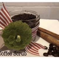 Coffee Sugar Scrub Recipe {homemade gift idea}