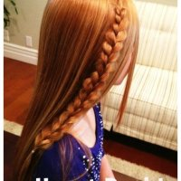 How to Make a Heart Braid - {tutorial}