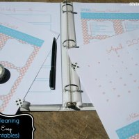 Spring Cleaning Made Easy {free printables}
