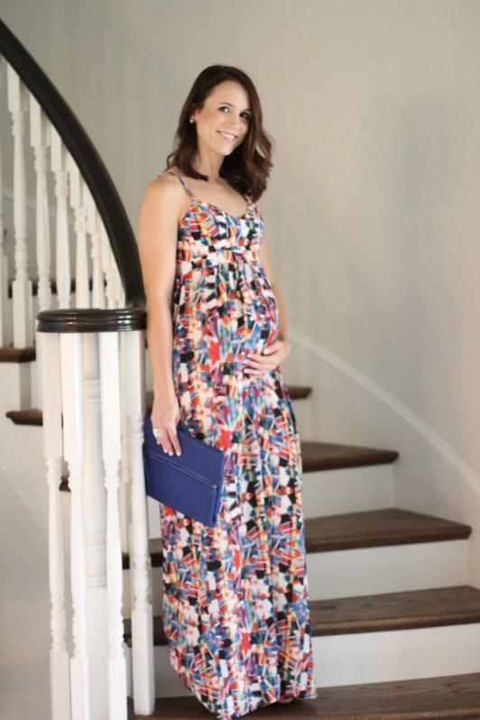 Maternity Maxi Dress 2