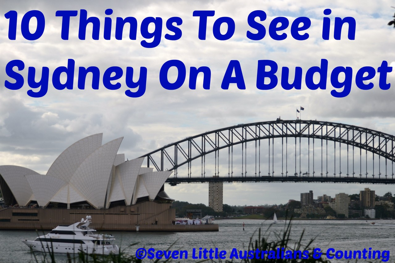 10 Things To See in Sydney On A Budget