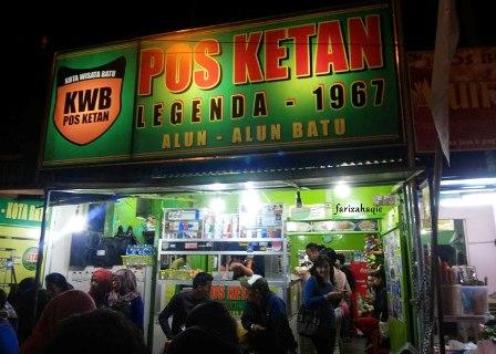 Pos Ketan Legenda 1967, Kuliner Wajib Wisata Kota Batu