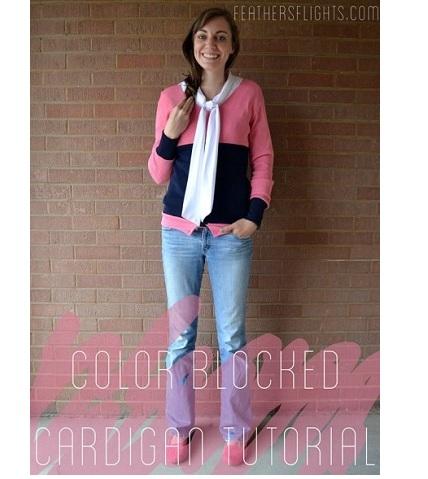 colorblockedcardi