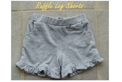 Ruffle Leg Shorts2