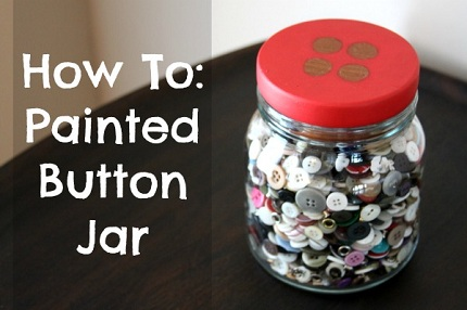 how-to-painted-button-jar