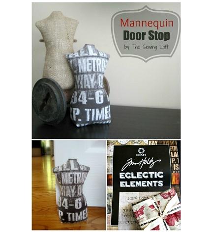 Free Pattern Mannequin Door Stop Sewing