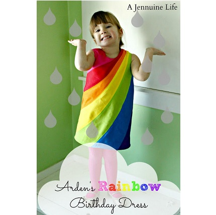 Rainbow Dress Title