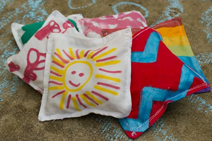 kid-decorated-scrap-fabric-bean-bags-3-of-3