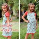 Free pattern: Girl's Everyday Raglan Dress