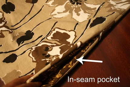 Tutorial: Add in-seam pockets to skirts and pants
