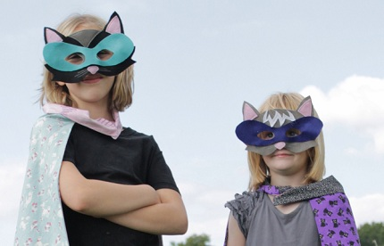 cat mask diy costume4