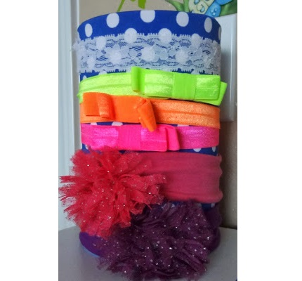 Tutorial: Headband Tower organizer