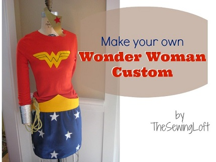 Tutorial: Wonder Woman costume appropriate for a girl to wear