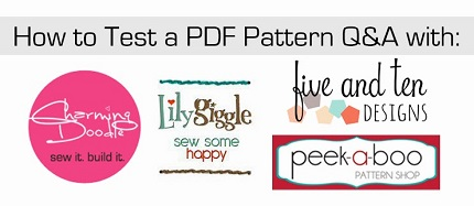 how to test a pdf pattern