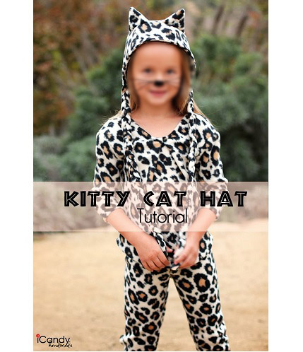 Free pattern: Fleece kitty cat hat