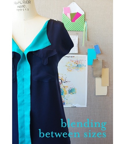 Tutorial: Blending between sizes on a multi-size pattern