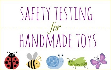 Abby talks about safety testing of handmade toys for small children