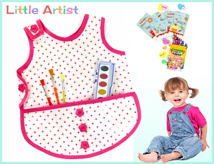 Free pattern: Little Artist toddler art smock