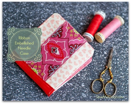 Tutorial: Ribbon Embellished Needle Case