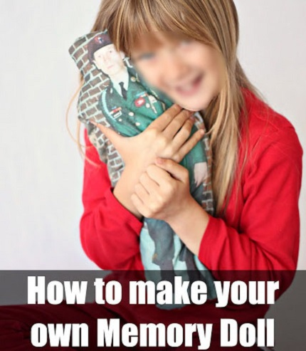Tutorial: How to create a memory doll to comfort a child