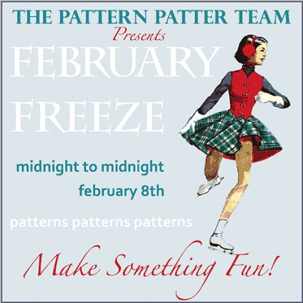Vintage pattern Etsy sales blitz tomorrow