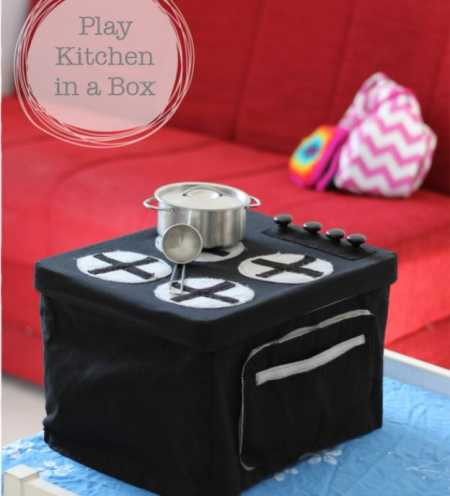 Tutorial: Play Kitchen-in-a-Box