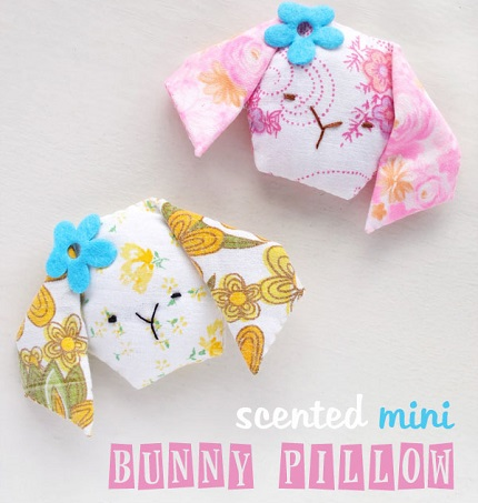 Tutorial: Hexie bunny sachet