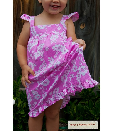 Tutorial: Summer Frills dress or top for little girls