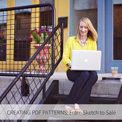 Review and Giveaway: Creating PDF Patterns by Lauren Dahl