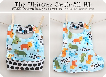 Free pattern: Ultimate Catch-All Bib