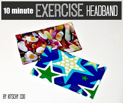 Tutorial: Make an exercise headband in 10 minutes