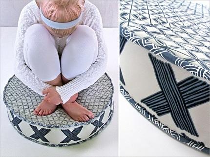 Tutorial: Big Round Floor Cushion ? Sewing
