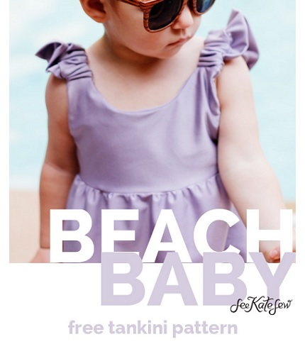 Free pattern: Toddler summer dress tankini swimsuit