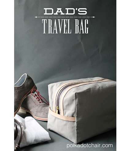 Tutorial: Dad's travel bag