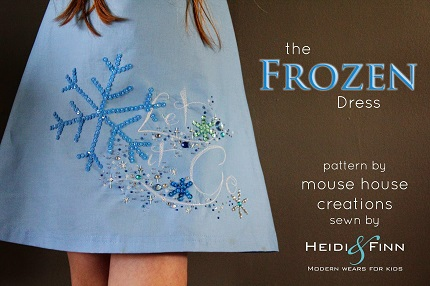 Tutorial: Frozen-inspired Let It Go dress and matching headband