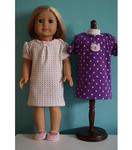 Tutorial: 18-inch doll clothes from newborn onesies